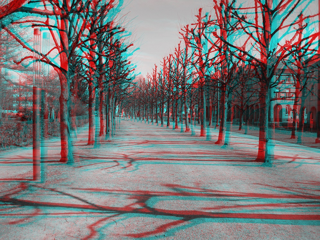 Anaglyph Allee